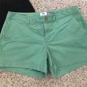 Old Navy - Classic Shorts - Green - Size 10